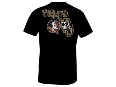 Florida State Seminoles LIDS NCAA Men's State Verbiage T-Shirt