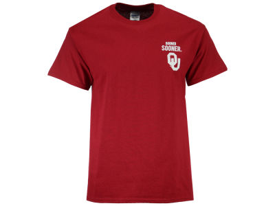 Oklahoma Sooners LIDS NCAA Men's State Verbiage T-Shirt