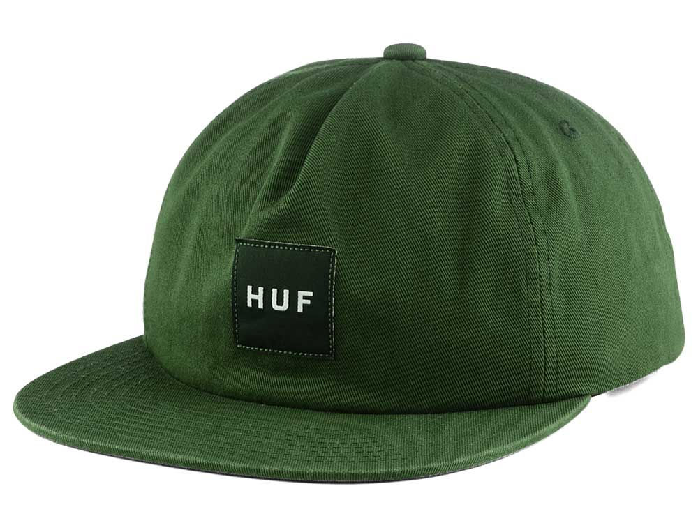 Huf Overdyed Box Logo Snapback Cap  68ccc2b55567