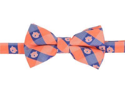 Auburn Tigers Bow Tie Checkered Repeat