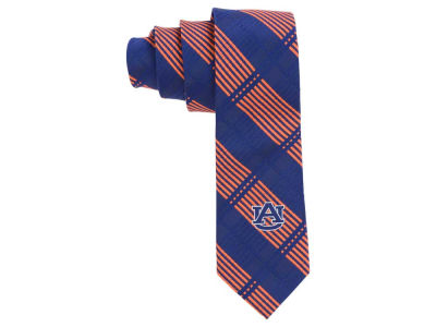 Auburn Tigers Eagles Wings Necktie Skinny Plaid