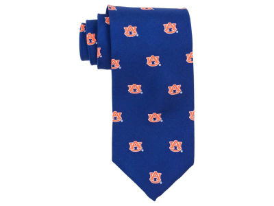 Auburn Tigers Prep Silk Repeat Tie