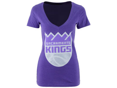 Sacramento Kings Gameday Couture NBA Women's Bling V T-Shirt