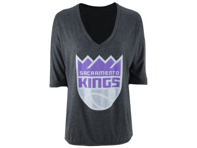 Sacramento Kings Gameday Couture NBA Women's 3/4 V T-Shirt