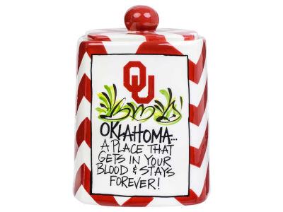 Oklahoma Sooners Cookie Jar