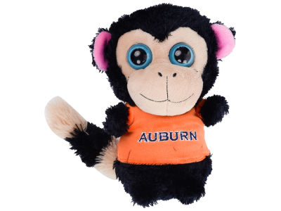"Auburn Tigers 8"" Big Eye Plush Monkey"
