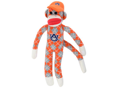 Auburn Tigers Plush Argyle Monkey