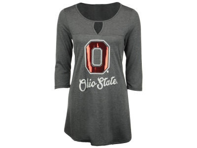 Ohio State Buckeyes Gameday Couture NCAA Women's Keyhole Swing Tunic