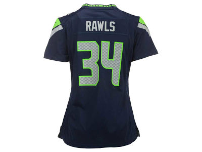Seattle Seahawks Thomas Rawls Nike NFL Women's Game Jersey