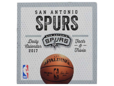 San Antonio Spurs 2017 Box Calendar