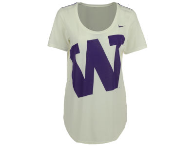 Washington Huskies Nike NCAA Women's Nameplate Boyfriend T-Shirt