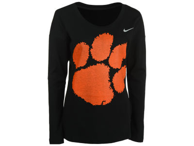 Clemson Tigers Nike NCAA Women's Tailgate Long Sleeve Top