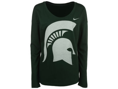 Michigan State Spartans Nike NCAA Women's Tailgate Long Sleeve Top
