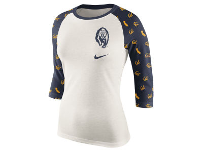 California Golden Bears Nike NCAA Women's Triblend Veer Raglan T-Shirt