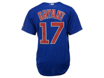 Chicago Cubs Kris Bryant Majestic MLB Youth Player Replica Cool Base Jersey