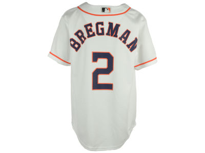 Houston Astros Alex Bregman MLB Youth Player Replica Cool Base Jersey