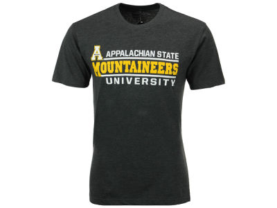Appalachian State Mountaineers Colosseum NCAA Men's Verbiage Stack T-Shirt