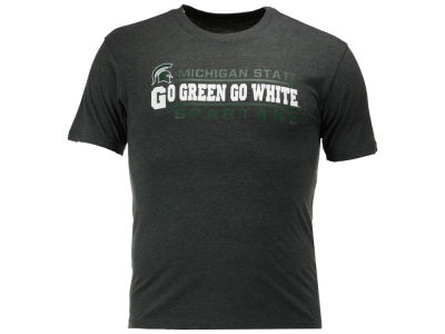 Michigan State Spartans Colosseum NCAA Men's Verbiage Stack T-Shirt