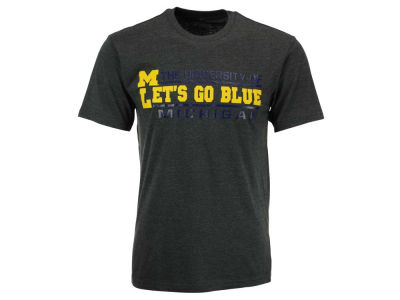 Michigan Wolverines NCAA 2 for $25 Colosseum NCAA Men's Verbiage Stack T-Shirt