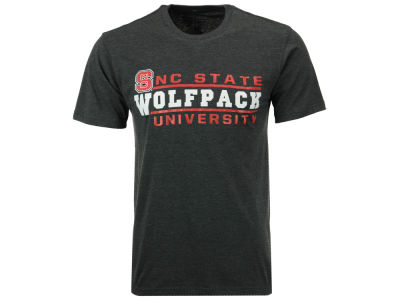 North Carolina State Wolfpack Colosseum NCAA Men's Verbiage Stack T-Shirt