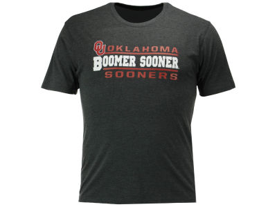 Oklahoma Sooners 2 for $28 Colosseum NCAA Men's Verbiage Stack T-Shirt