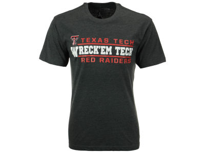 Texas Tech Red Raiders 2 for $28 Colosseum NCAA Men's Verbiage Stack T-Shirt