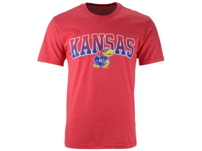Kansas Jayhawks 2 for $28 Colosseum NCAA Men's Gradient Arch T-Shirt