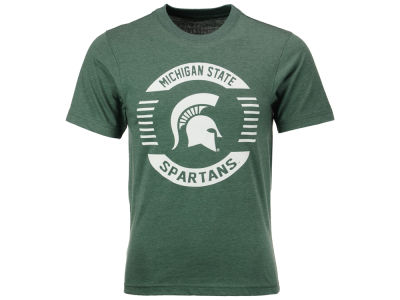Michigan State Spartans Colosseum NCAA Men's Circle Logo T-Shirt