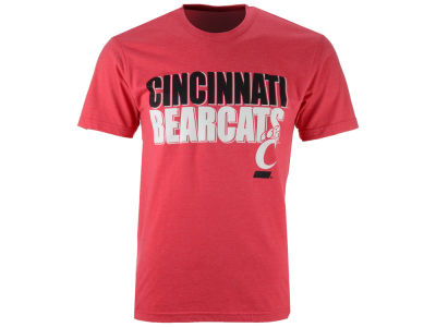 Cincinnati Bearcats NCAA 2 for $28 Colosseum NCAA Men's Wordmark Stack T-Shirt