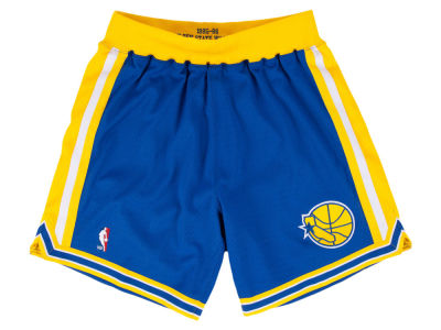 Golden State Warriors Mitchell & Ness NBA Men's Authentic NBA Shorts