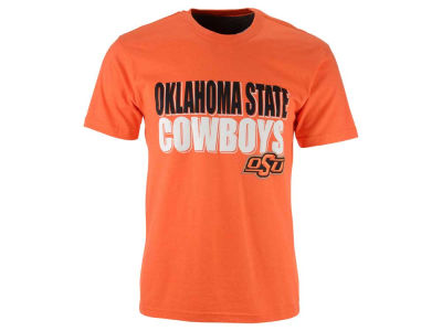 Oklahoma State Cowboys 2 for $28 Colosseum NCAA Men's Wordmark Stack T-Shirt