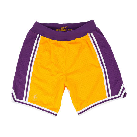 Los Angeles Lakers Mitchell & Ness NBA Men's Authentic NBA Shorts