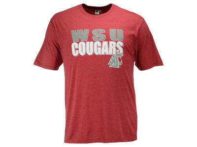 Washington State Cougars 2 for $28 Colosseum NCAA Men's Wordmark Stack T-Shirt