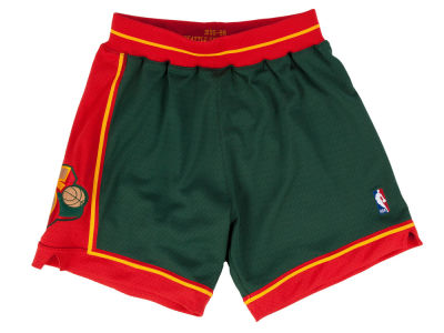 Seattle SuperSonics Mitchell and Ness NBA Men's Authentic NBA Shorts