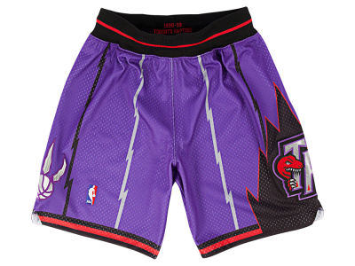 Toronto Raptors Mitchell and Ness NBA Men's Authentic NBA Shorts