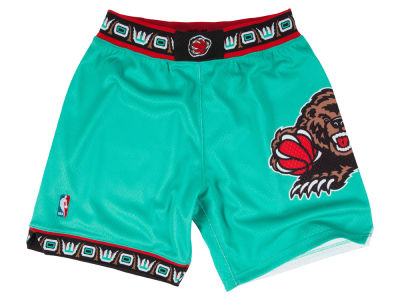 Vancouver Grizzlies Mitchell and Ness NBA Men's Authentic NBA Shorts