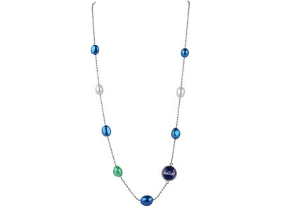 Seattle Seahawks Honora Honora Necklace Multi Color Pearls