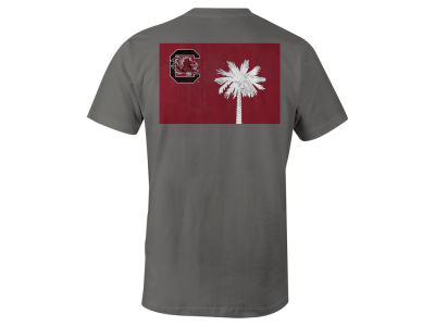 South Carolina Gamecocks NCAA Men's Mascot State Flag T-Shirt