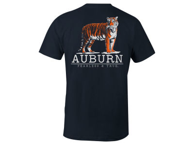 Auburn Tigers NCAA Men's Back Mascot T-Shirt