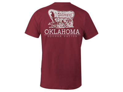 Oklahoma Sooners NCAA Men's Back Mascot T-Shirt