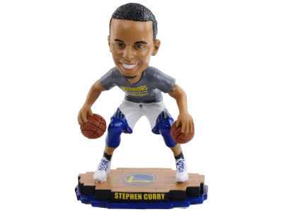 Golden State Warriors Stephen Curry Warm Up Bobble Head 2.0