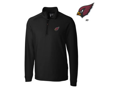 Arizona Cardinals Cutter & Buck NFL Men's Jackson Overknit 1/4 Zip Pullover