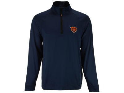 Chicago Bears Cutter & Buck NFL Men's Jackson Overknit 1/4 Zip Pullover