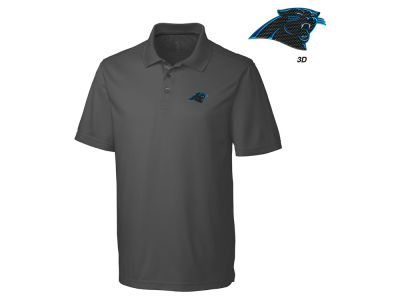 Carolina Panthers Cutter & Buck NFL Men's 3D Emblem Fairwood Polo Shirt