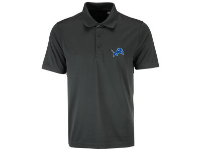 Detroit Lions Cutter & Buck NFL Men's 3D Emblem Fairwood Polo Shirt
