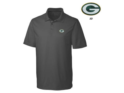 Green Bay Packers Cutter & Buck NFL Men's 3D Emblem Fairwood Polo Shirt