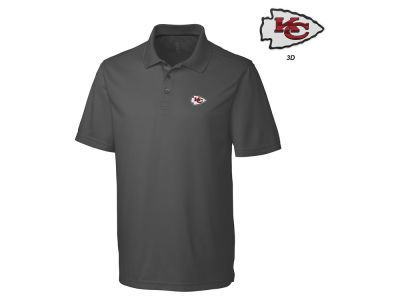 Kansas City Chiefs Cutter & Buck NFL Men's 3D Emblem Fairwood Polo Shirt