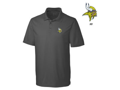 Minnesota Vikings Cutter & Buck NFL Men's 3D Emblem Fairwood Polo Shirt