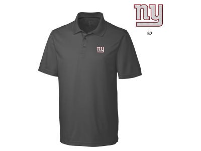 New York Giants Cutter & Buck NFL Men's 3D Emblem Fairwood Polo Shirt