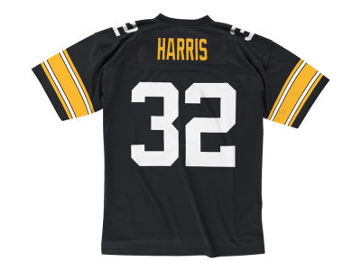Pittsburgh Steelers Franco Harris Mitchell & Ness NFL Replica Throwback Jersey